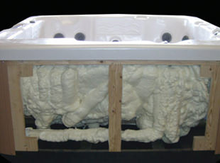 hot tub insulation
