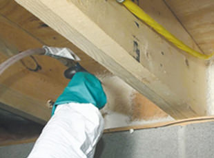 Insulating sealing rim band joists