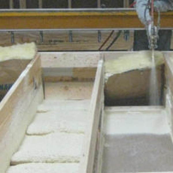 Manufactured house insulation