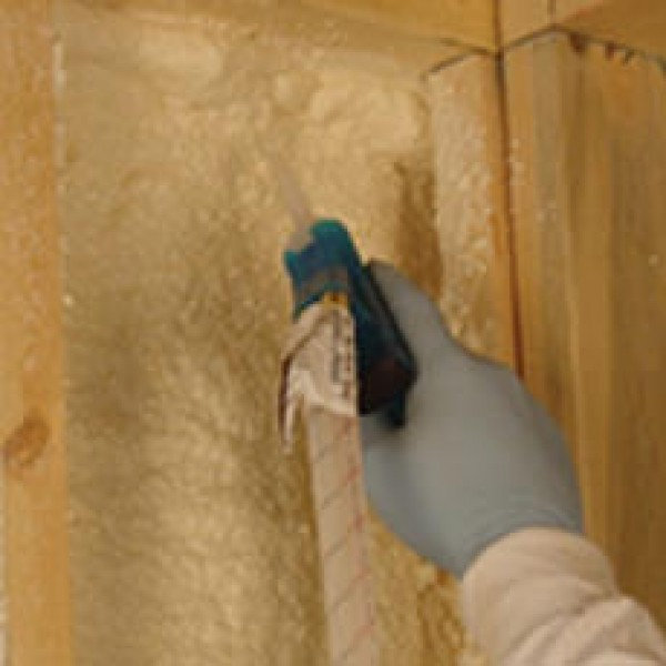 Residential wall insulation