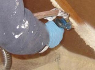 Sealing attic baffles