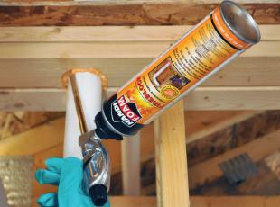 Sealing Plumbing Penetrations
