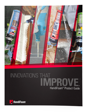 handifoam product guide cover