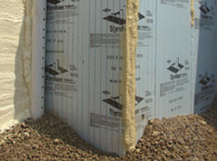 Sealing insulation board joints